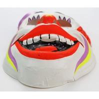 Vintage Clown Halloween Mask Circus Ben Cooper Costume IT Horror