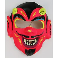 Vintage Devil Halloween Mask Horror Monster Demon