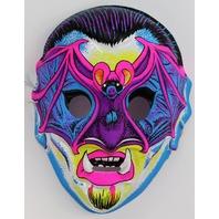 Vintage Vampire Halloween Mask Horror Monster Vampiro Bat Dracula