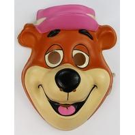 Vintage Yogi Bear Halloween Mask Hanna Barbera Huckleberry Hound Show