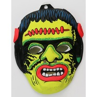 Vintage Frankenstein Halloween Mask Universal Monsters 60's 70's