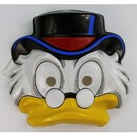 Vintage Walt Disney Scrooge McDuck Ducktales Halloween Mask  Duck Tales