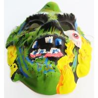 Vintage Zombie Monster Halloween Mask Demon Living Dead Corpse Creepy Scary