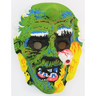 Vintage Zombie Monster Halloween Mask Demon Living Dead Corpse Creepy Scary