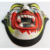 Vintage Dracula Vampire Halloween Mask Monster