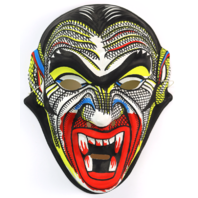 Vintage Dracula Vampire Halloween Mask Monster