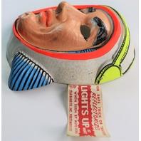Vintage NASA Astronaut Halloween Mask Star Band 1960's 1970's