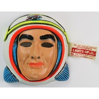 Vintage NASA Astronaut Halloween Mask Star Band 1960's 1970's