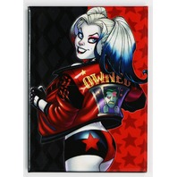 Harley Quinn Owned FRIDGE MAGNET Batman Joker Suicide Squad DC Comics
