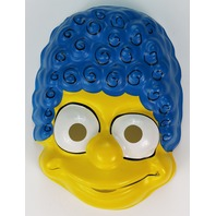 Vintage Ben Cooper The Simpsons Halloween Mask Set Marge Homer Bart Simpson 1989