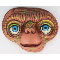 Vintage E.T. Extra Terrestrial Halloween Mask Universal Studios ET Alien 1980s