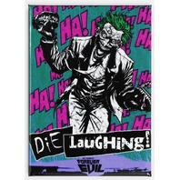 The Joker Die Laughing FRIDGE MAGNET Batman DC Comics Forever Evil C18