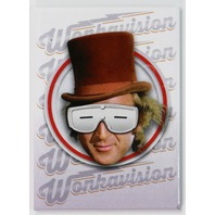 Willy Wonka Wonkavision FRIDGE MAGNET Charlie and the Chocolate Factory