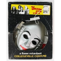 Vintage Collegeville 50th anniversary Tin Man Wizard of Oz Halloween Mask Costume In Box SD3751