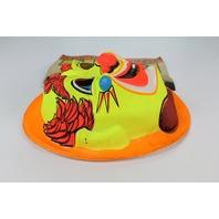 Vintage Clown Flip Top Hat Mask Halloween Mask Holiday House 1960's