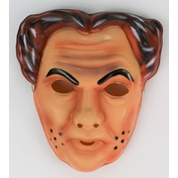 Vintage Dick Tracy Flattop Jones Sr. Halloween Mask Walt Disney Ben Cooper SD3753