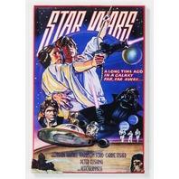 Star Wars Movie Poster FRIDGE MAGNET Variant Poster Sci Fi Vader Jedi