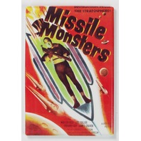 Missile Monsters Movie Poster FRIDGE MAGNET 1950's Sci Fi Outer Space