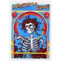 Grateful Dead Skeleton Logo Concert Poster FRIDGE MAGNET Jerry Garcia