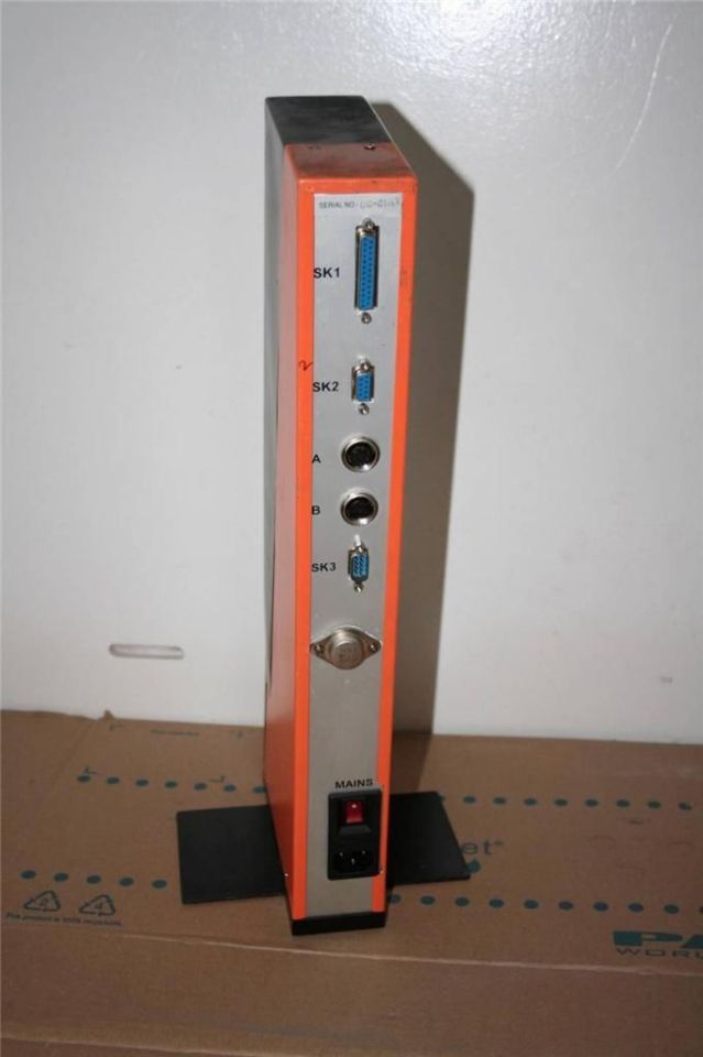 Sd Baker Air Electronic Column Unit Module Gauge W Stand on Omron Industrial Automation
