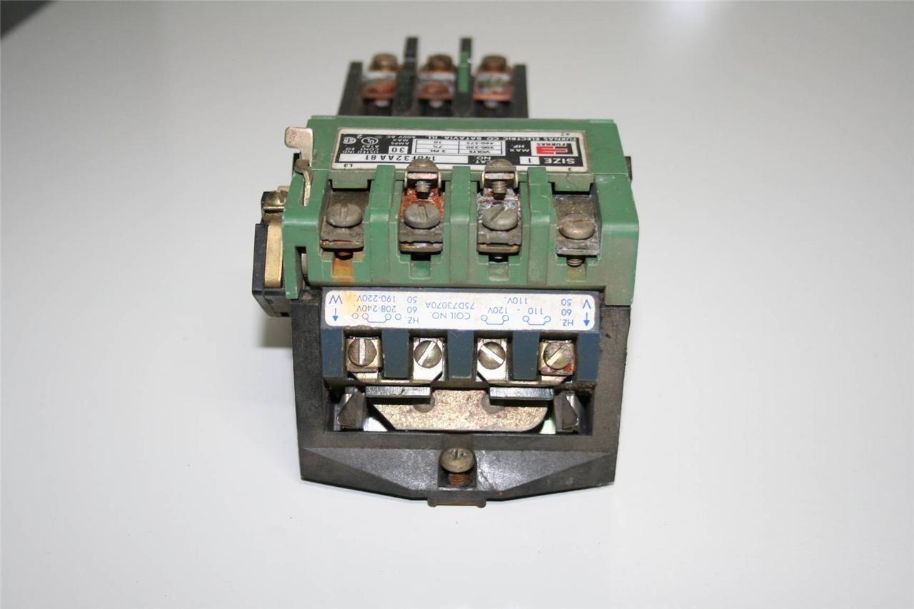 Furnas electric 14df32aa81 starter 30amp 600vac 50 60hz Furnas motor starter
