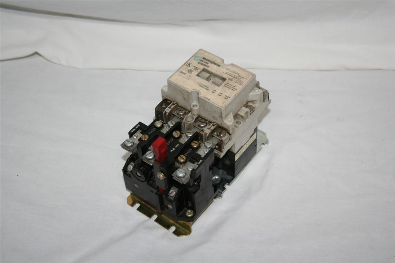 Westinghouse Motor Control A201k0ca Contactor 200v