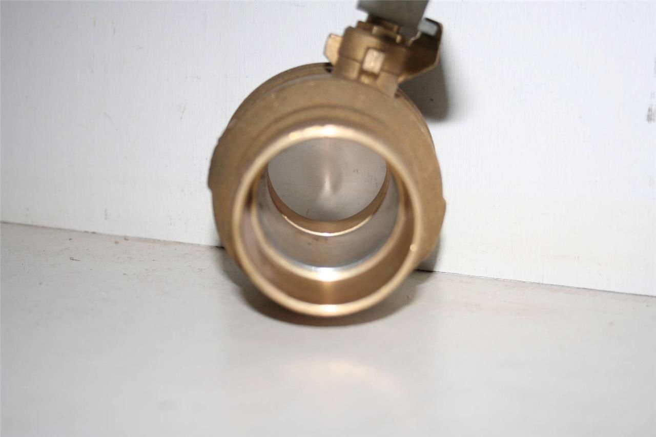 Red white fig 5049f brass ball valve 2 quot rwv 150 wsp 600 wog new