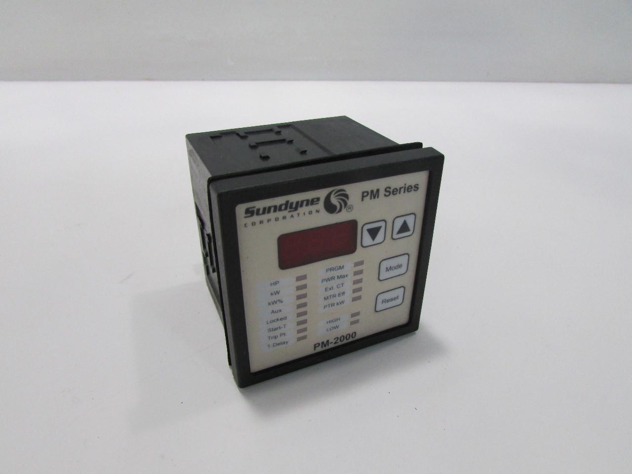 Power Monitors Inc : Sundyne corporation pm power monitor premier