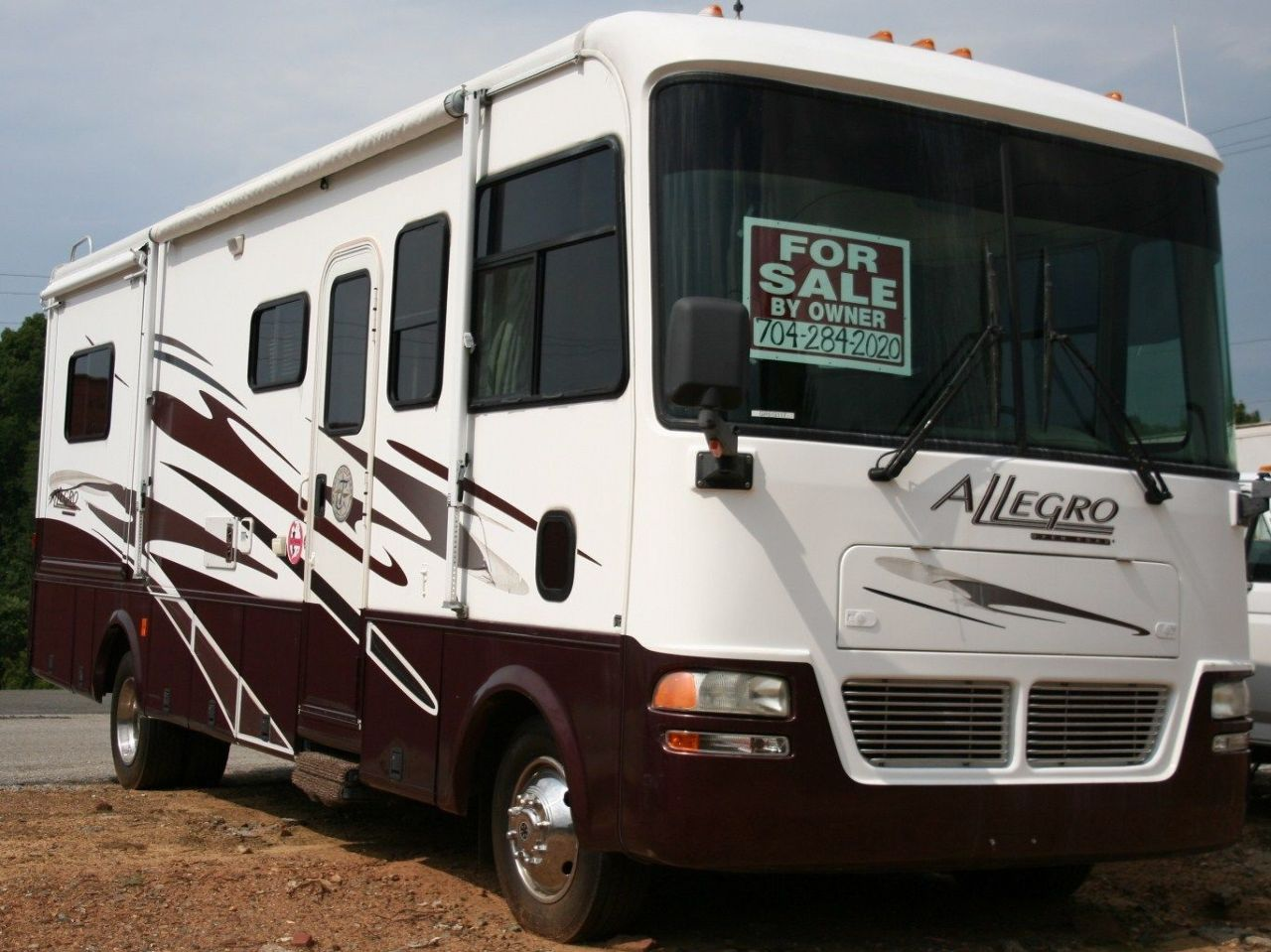 2005 tiffin motor homes allegro motorhome 28 39 2 slides for Allegro home