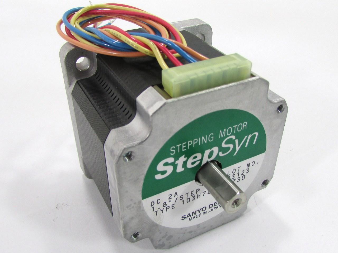 Sanyo denki sanmotion 103h7822 5730 stepper motor 2 for Step syn sanyo denki stepping motor datasheet