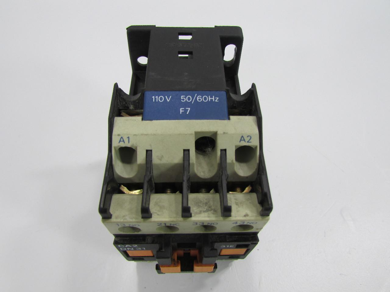 Telemecanique ca2dn31 31e motor starter contactor premier equipment solutions Telemecanique motor starter