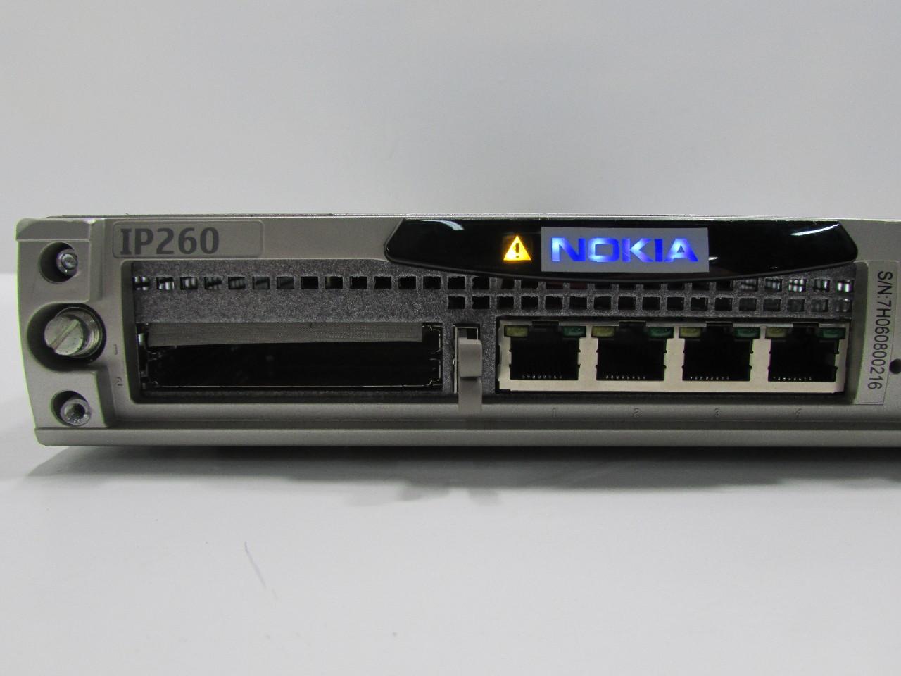 NOKIA IP260 EM5400 4 PORT ETHERNET 1U VPN IP SECURITY FIREWALL ...