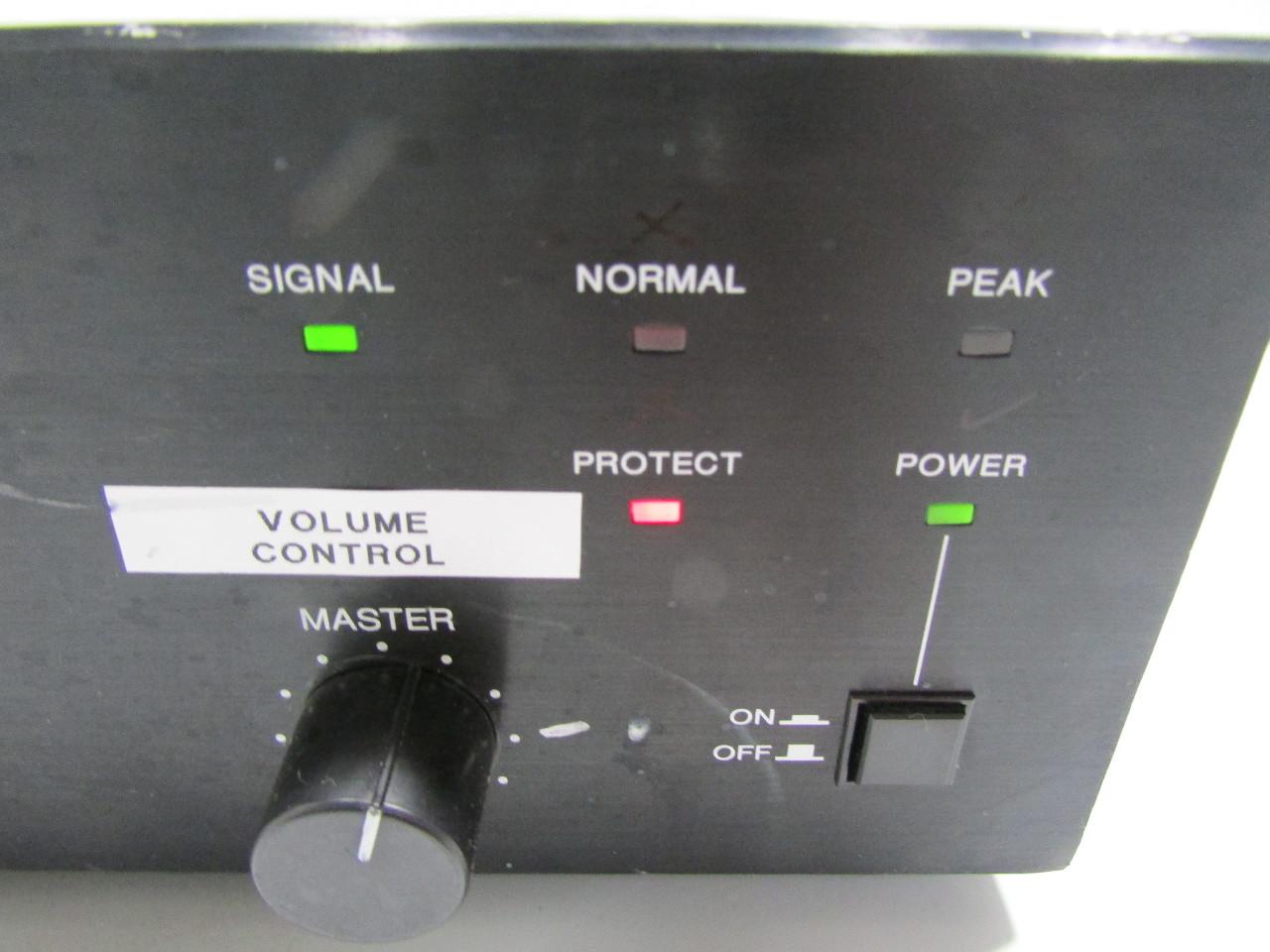 toa 900 series ii amplifier a 912mk2 manual