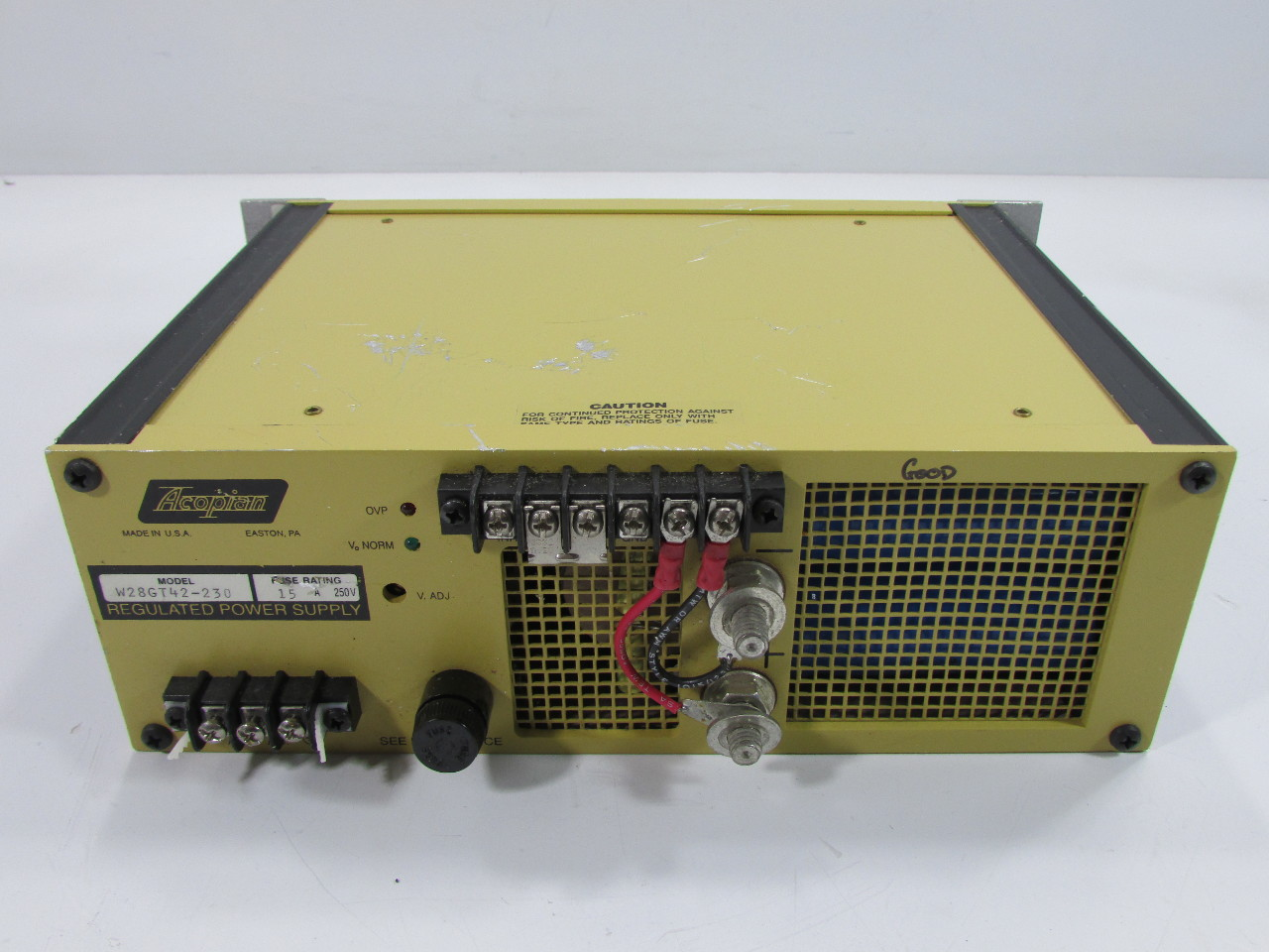 Acopian W28gt42 203 Switching Regulated Power Supply