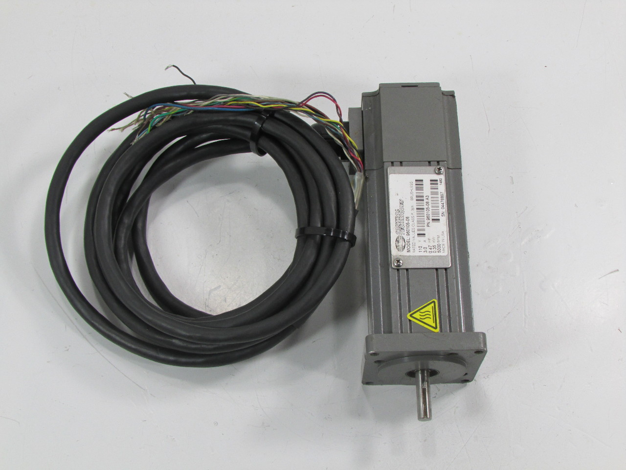 Control Techniques 960105 06 Brushless Servo Motor Warranty Premier Equipment Solutions Inc