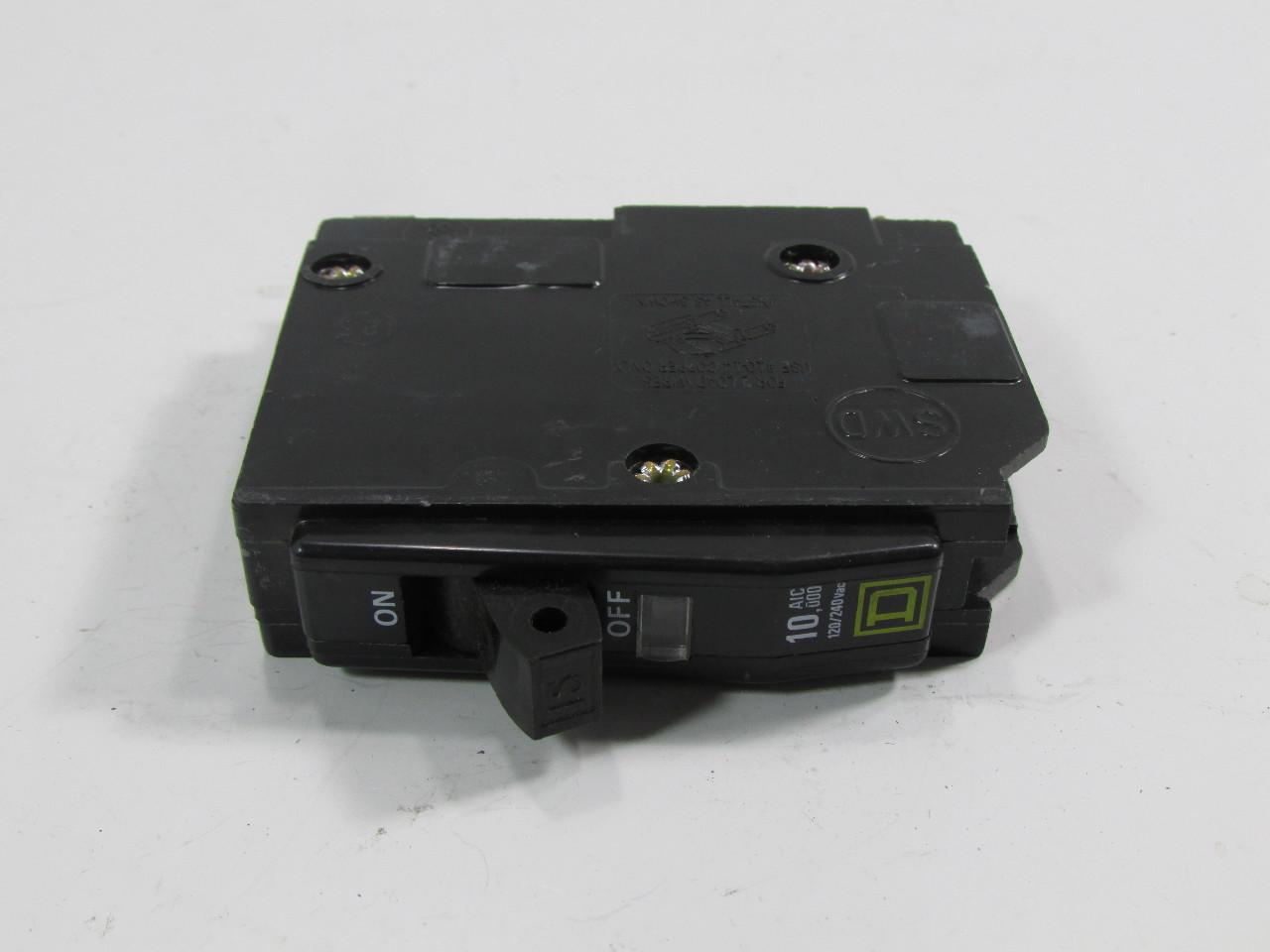 SQUARE D CIRCUIT BREAKER 120/240 VAC 10 000 AMPS Premier Equipment  #4F5B3A