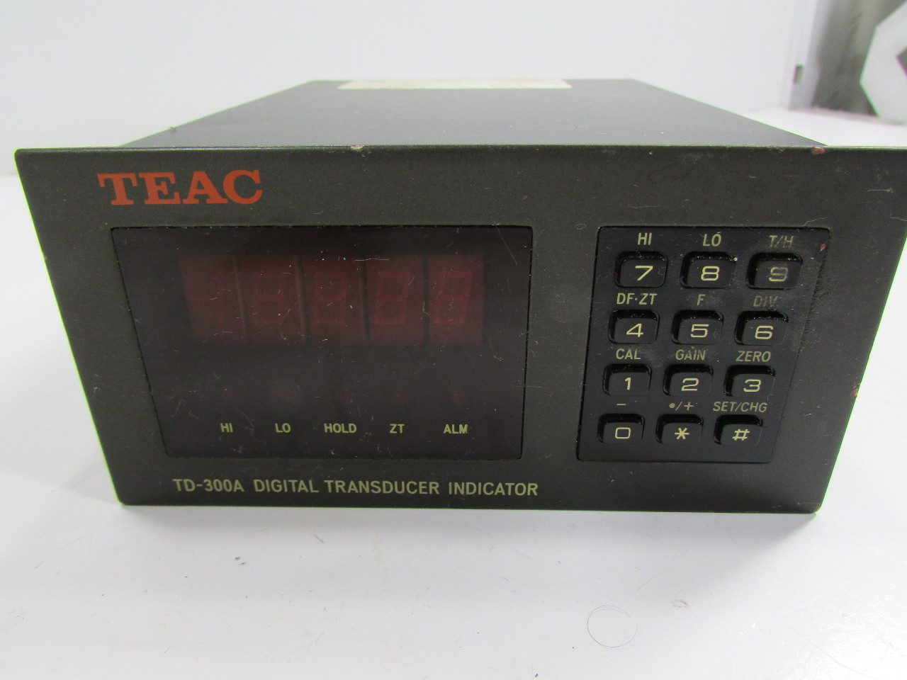 Digital Indicator Parts : Teac td a digital transducer indicator parts