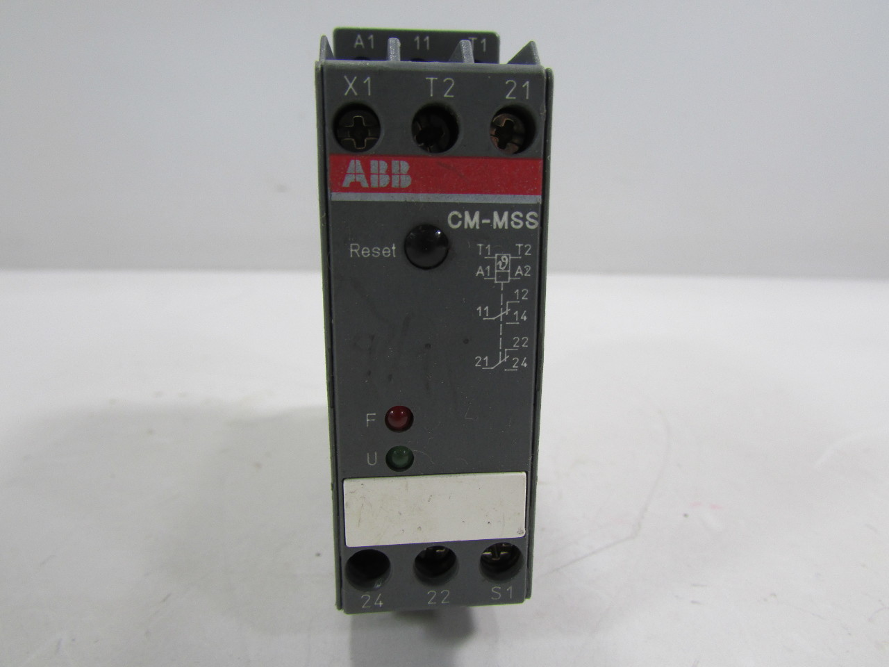 Abb cm mss 1svr430720r0300 motor protection monitoring for Thermistor motor protection relay