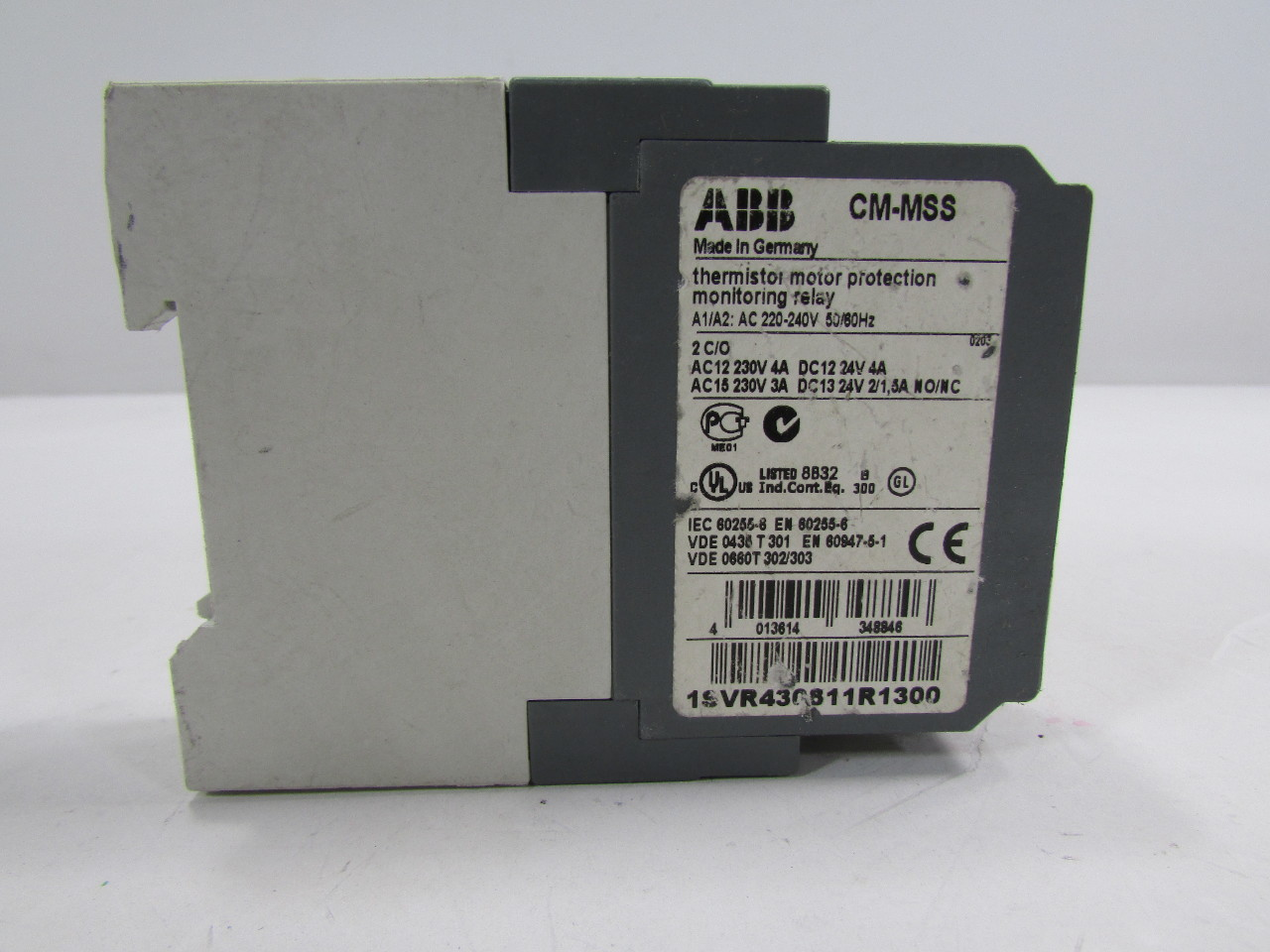 Abb cm mss 1svr430720r0300 motor protection monitoring for Abb motor protection relay catalogue