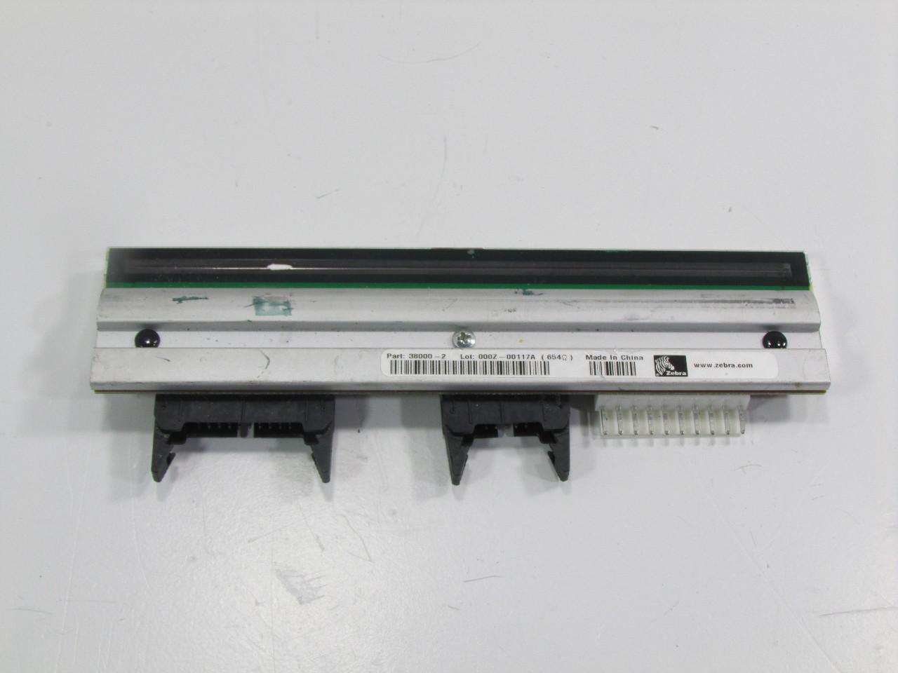 ZEBRA LABEL PRINTER PRINTERHEAD P/N 38000-2 | Premier ...