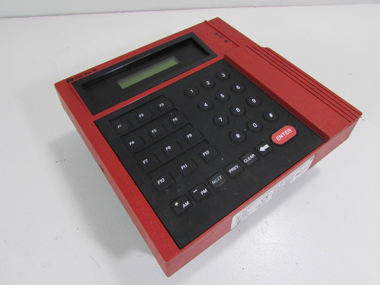 Kronos 480f Time Clock For Sale: KRONOS DIGITAL TIME CLOCK 480F
