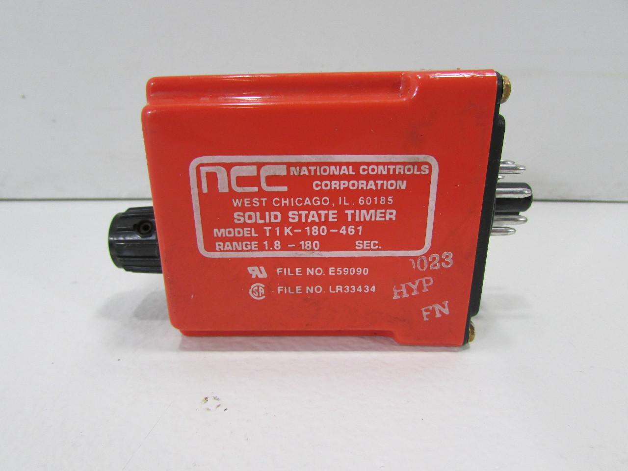 Ncc Solid State Timer Tik