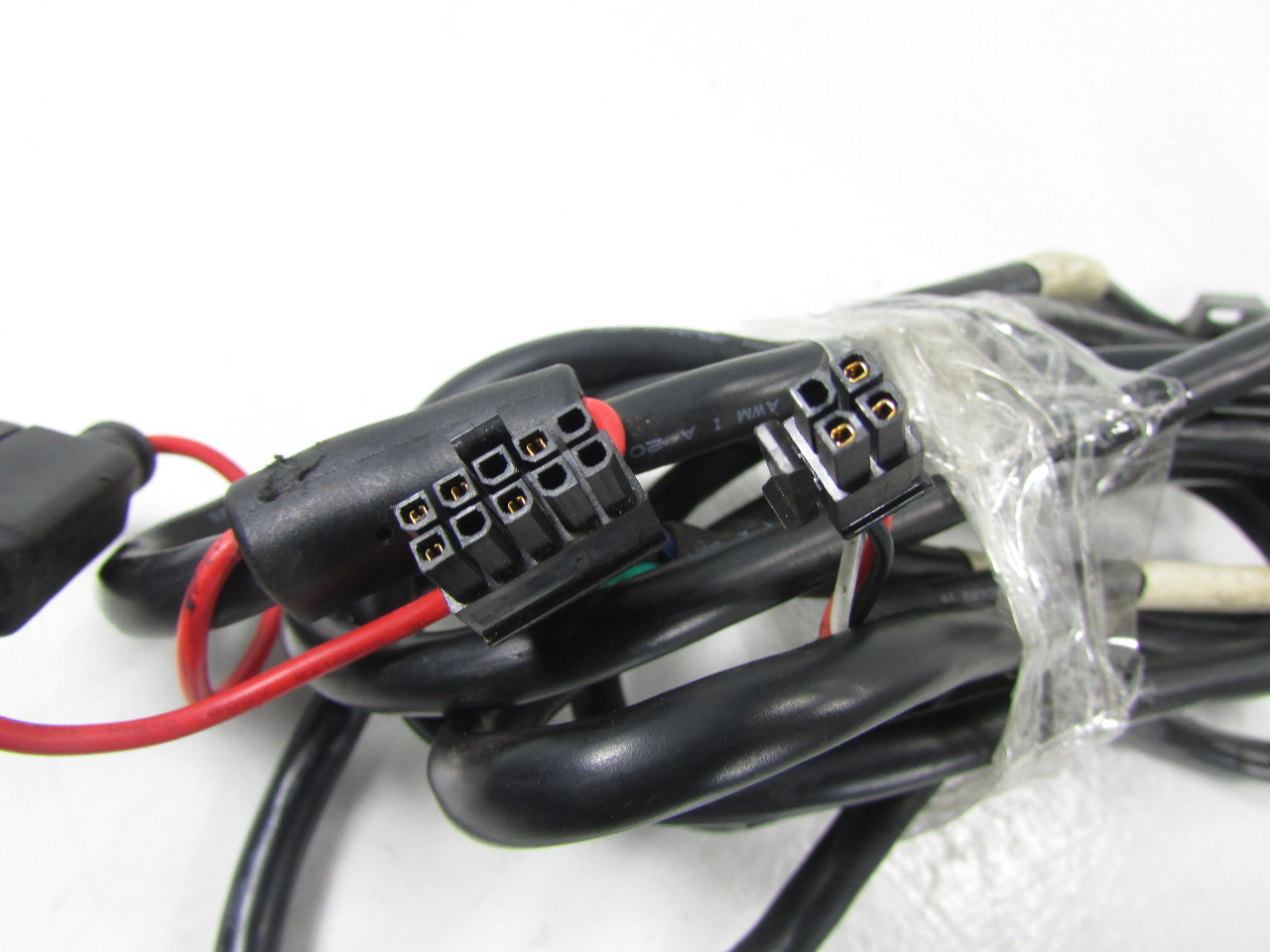 Which Color Wire In The Harness Powers The Servo Motor From The Ecu
