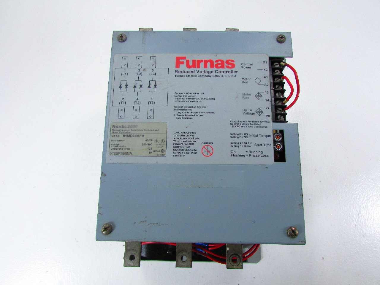 FURNAS NORDIC 2000 91MD34AFA MICROPROCESSOR SOLID STATE ...