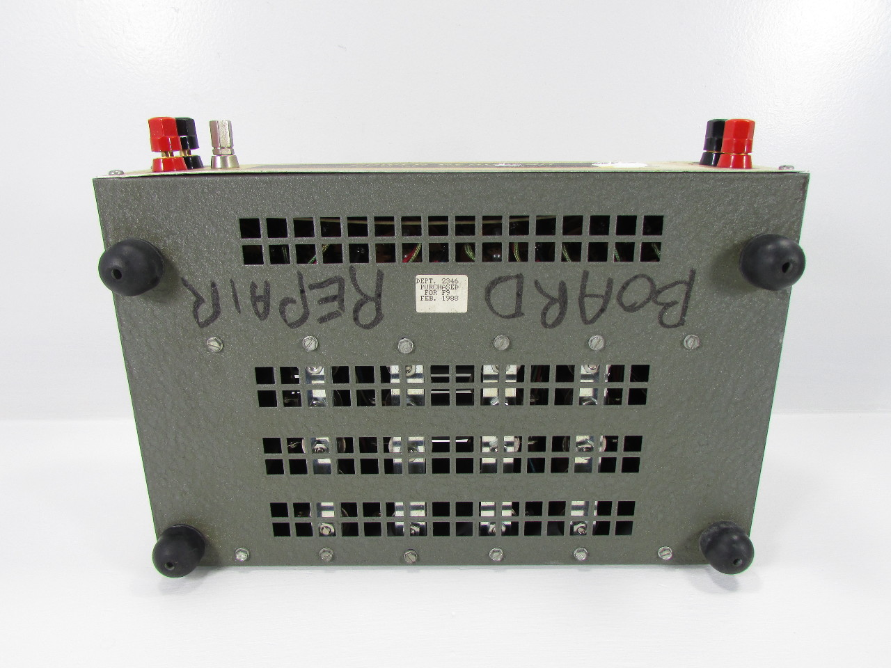 clarostat 240 c power resistor decade box premier equipment solutions inc. Black Bedroom Furniture Sets. Home Design Ideas