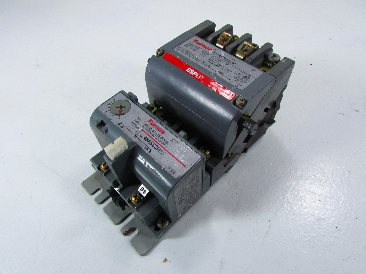 Furnas electric co 48asc3m20 esp100 starter ebay Furnas motor starter