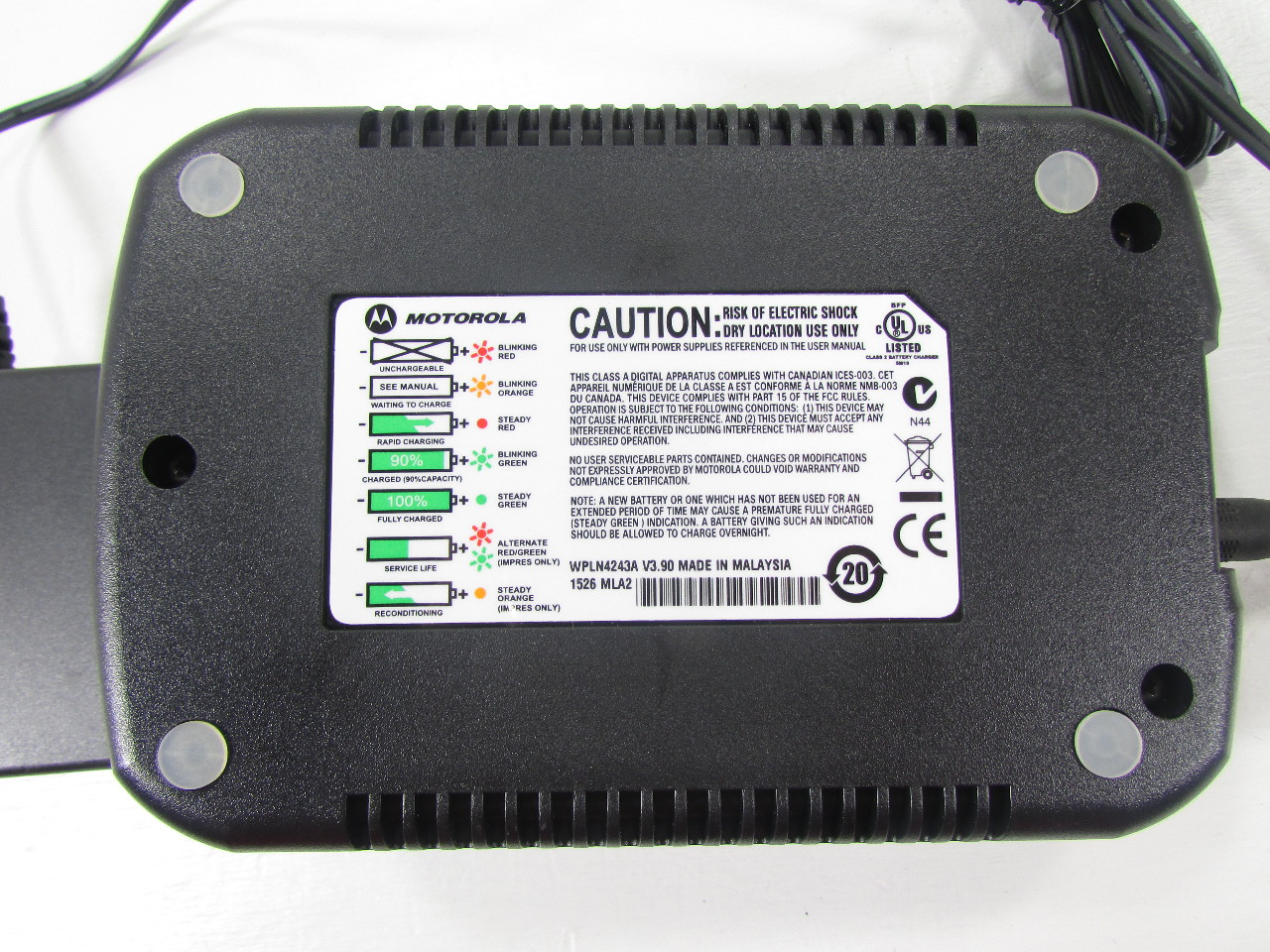New Motorola Wpln4243a Impres Adaptive Battery Charger