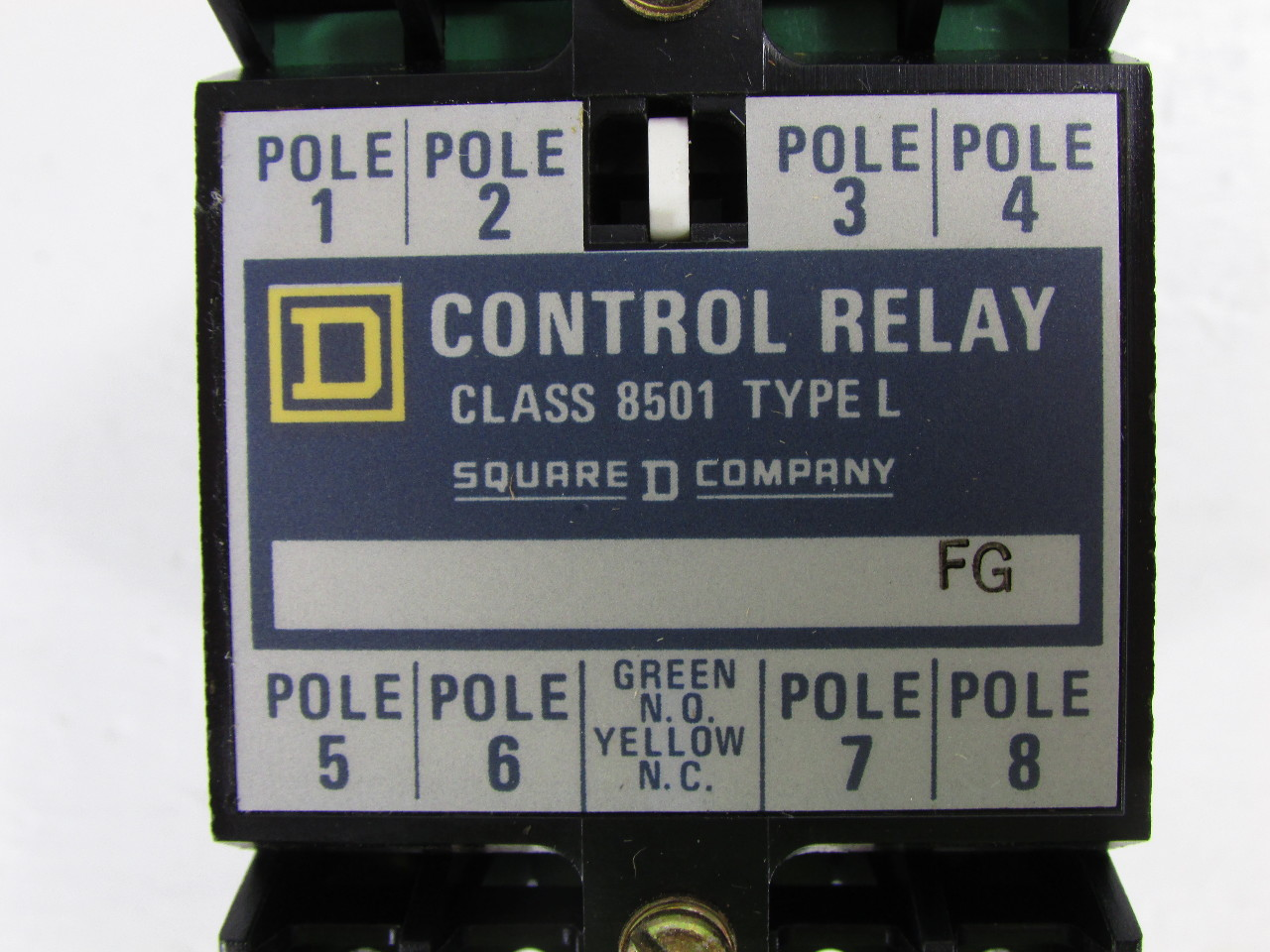 NEW SQUARE D 8501 TYPE L CONTROL RELAY Premier Equipment Solutions  #6C6F44