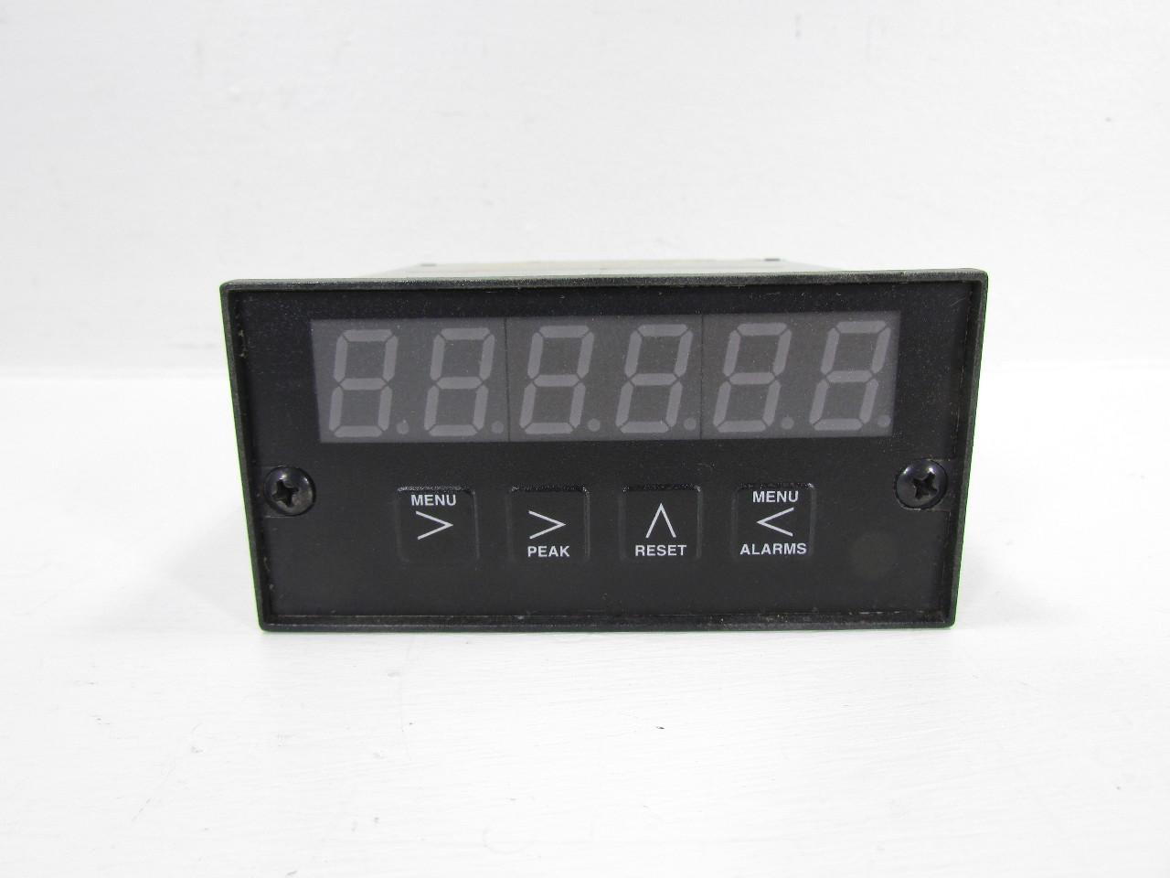 Digital Panel Indicators : Electro numeric mcr kh c digital indicator panel meter