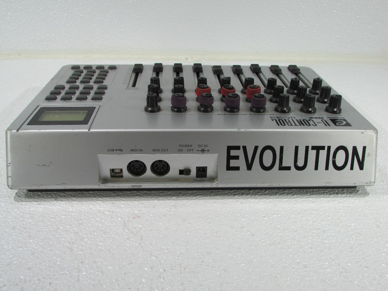 evolution u control uc 33 usb midi controller premier equipment solutions inc. Black Bedroom Furniture Sets. Home Design Ideas
